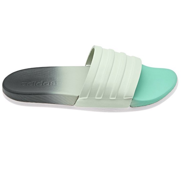 separation shoes f0d0a d304b adidas Shoes - ADIDAS ADILETTE CF+ FADE GREENGREY SLIDES